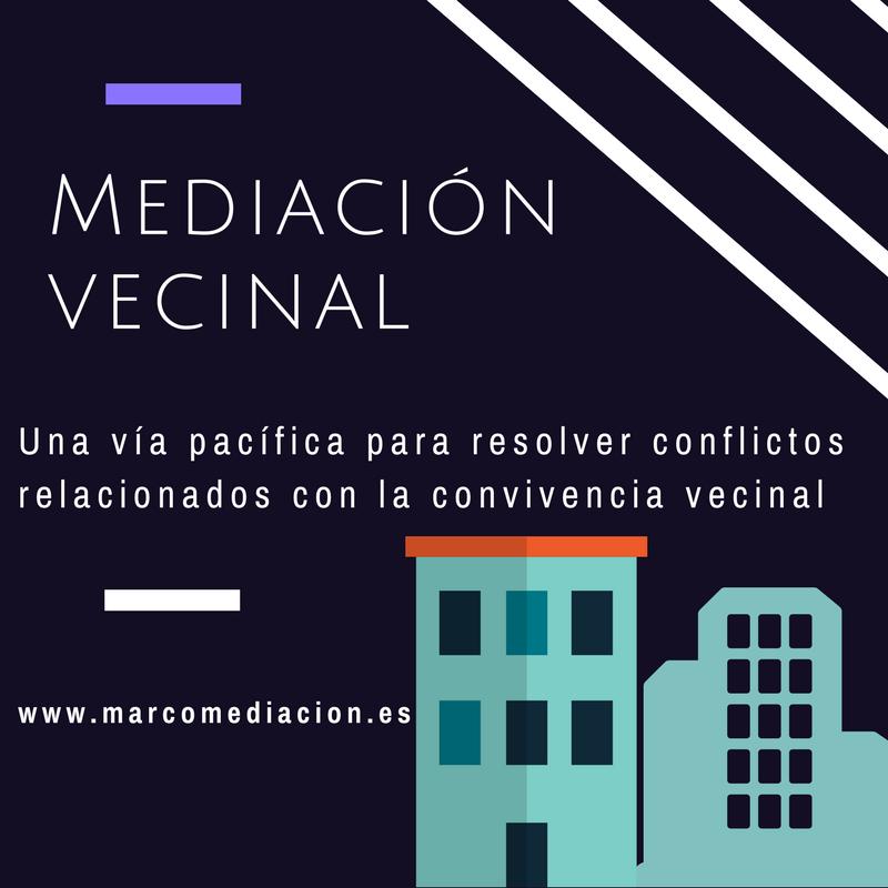 Mediación vecinal y comunitaria