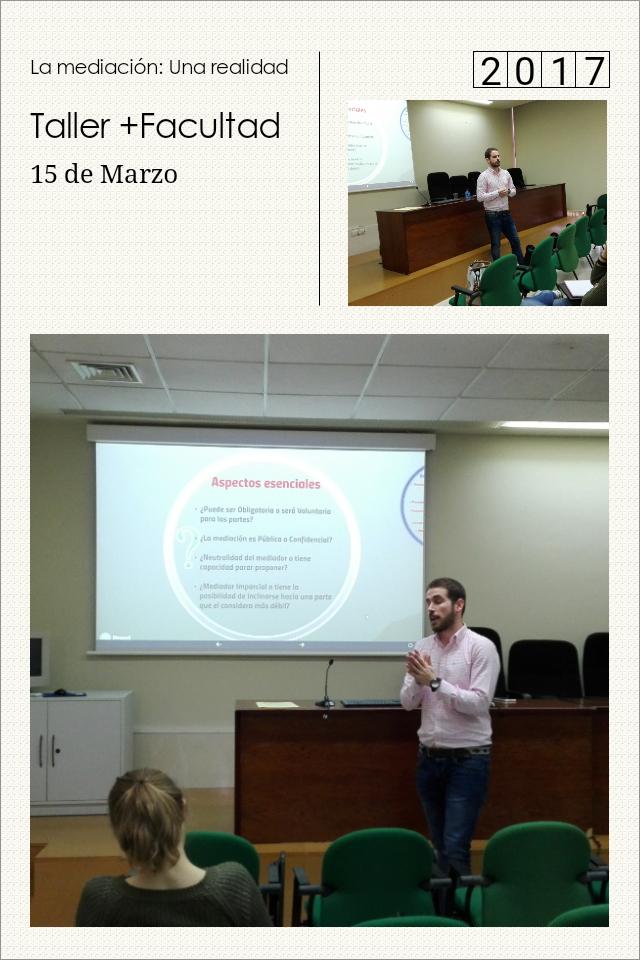 Gran experiencia impartir el Taller de Mediación en Ciencias Sociales