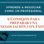 negociación y mediación
