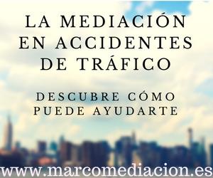 Mediación en accidentes de tráfico, nuevas alternativas