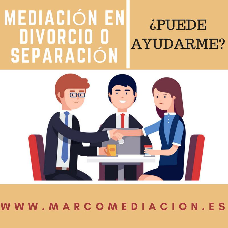 La Mediación en el proceso de divorcio o separación