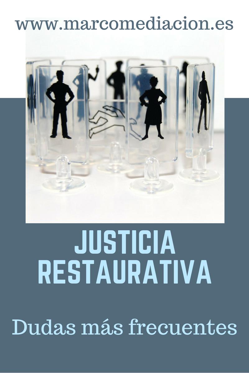 Qué es justicia restaurativa