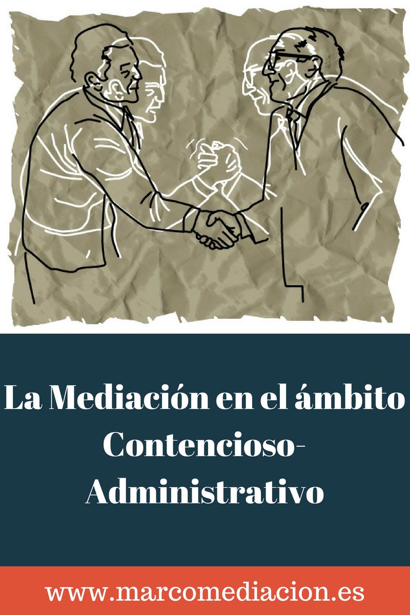 Mediación contencioso administrativa