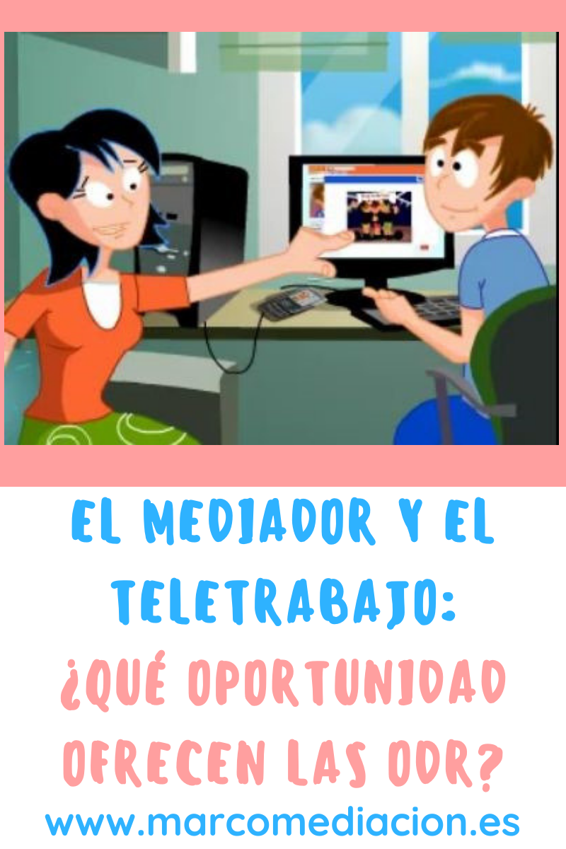 Mediador familiar teletrabajo
